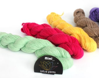 mimi plus mink yarn hand knitting yarn  42 colors