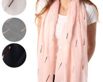 Monogrammed Formal Evening Wrap Rose Gold Personalized Scarf Women Evening Wraps Shrugs Elegant Wraps Shawls Gift for Her UK Sellers Only