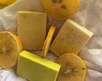 Burst Of Lemon Goat Milk Soap Bar