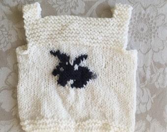 Bunny Vest (0-6 months)
