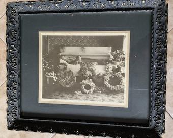 Victorian Postmortem Photo in Original Period Frame