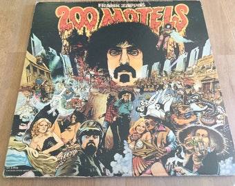 200 Motels The Movie of Frank Zappa And The Mothers of Invention Soundtrack 1971