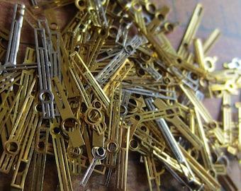 Vintage  Watch parts Hands- Steampunk - Scrapbooking b95