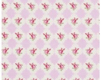 SALE Rosey - Cameo - Tonya Whelan - Rose-Pink - Half Yard