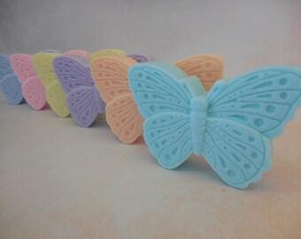 Butterfly Soaps - Decorative Soap - Glycerin Soap - Bridal Shower Favors - Baby Shower Favors - Soap Favors - Butterfly Baby Shower Favors