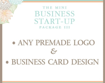 Business Package - Premade Logo - Business Card Design