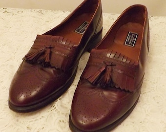 Vintage Bostonian Men's Tassel Loafers Size 11 . 5