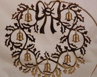 Vintage 1983 Hallmark Bell Wreath Vintage Christmas - QX4209