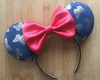 Butterfly Ears, Butterfly Mouse Ears, Food and Garden Inspired Ears