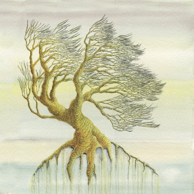 Tree Print - Watercolour Print - Pen and Ink Drawing - Wall Art ...