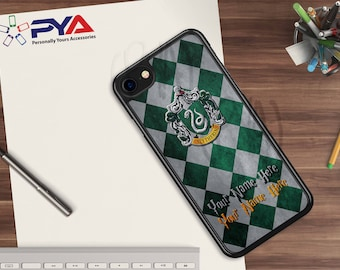 Harry Potter Phone Case - Personalized with a Name Slytherin House for Apple iPhone & iTouch Devices  Harry Potter iPhone Case