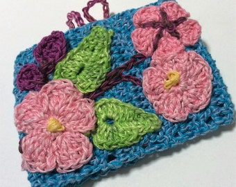 Crocheted, Sewn and Embroidered Spring Cuff PDF