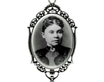 Large Lizzie Borden Pendant Necklace