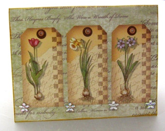 Greeting Card with Envelope All Occassion Mother's Day Birthday Thinking of You Cardstock Scrapbook Paper
