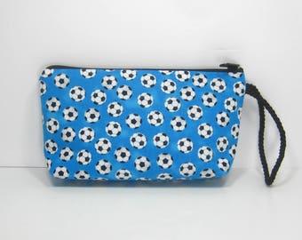Soccer Fan Montego Wallet Wristlet Pouch