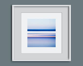 Seascape photo, abstract seascape, photo of the sea, Harlyn, Cornwall, photo of waves, wall decor, surf decor, abstract art, surf photo