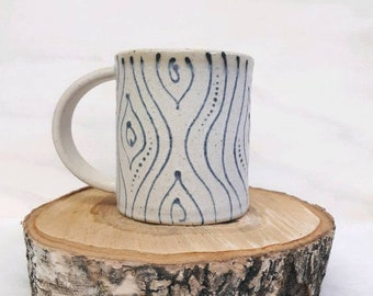 Treehugger woodgrain coffee style Mug