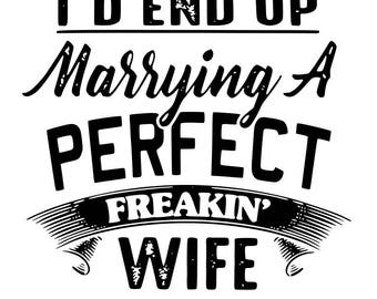 Perfect Wife and Perfect Husband  - svg, pdf, png, dxf file