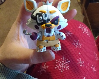Custom Five Nights at Freddy's Lolbit from Sister Location Mini Mystery Figure Funko