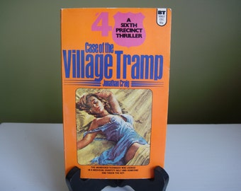 Vintage Paperback Book - Case of The Village Tramp - A Sixth Precinct Thriller