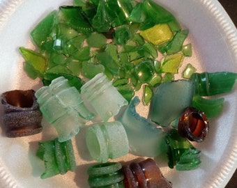 Hand gathered Caribbean Sea Glass