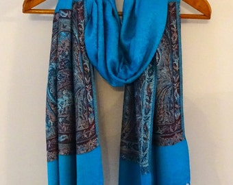 Jamawar Reversible Stole, variety of colours, great accessory