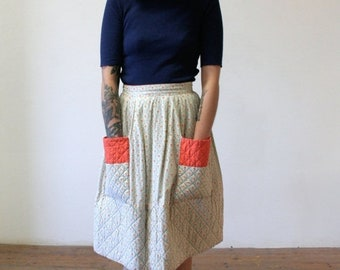 ON SALE 1960's Pocket Skirt