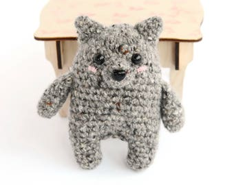 Wolfs stuffed toy - Wolf plushie - Wolf toy for kids - Woodland creatures - Organic plush toy - Kids travel toy - Eco-friendly toy