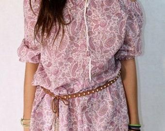 sewing pattern Boho Chic Tunic for women