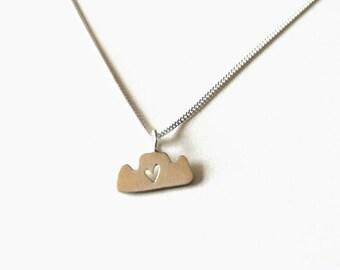 Mini Table mountain Necklace