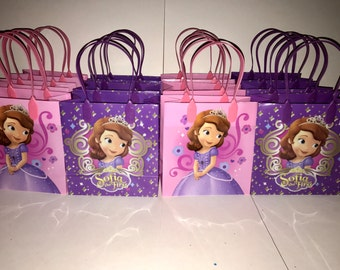 Sophia the first goodie favor bags 12pcs