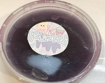 Craving Raisins Clear Slime 8oz