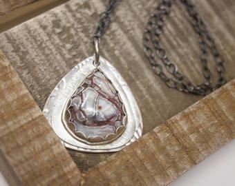 Crazy Lace Fine Silver Necklace - GD314