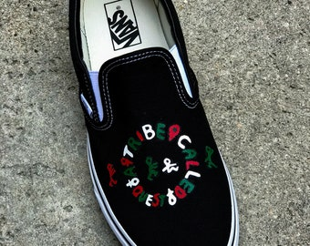 A Tribe Called Quest Custom Slip-On
