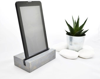 iPad stand Tablet stand Office accessories iPad accessories Wooden iPad stand, Gift idea