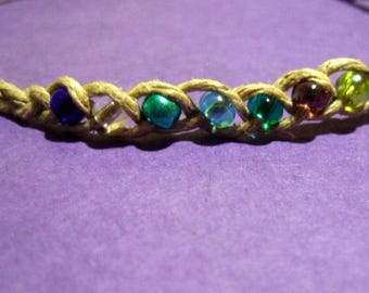 Hemp Wish Bracelet