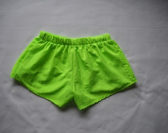 Green Short are designed by Stately to enhance all figures. Low rise shorts are often worn by group at events especially sororities.