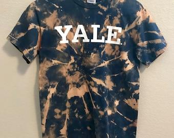 Tie Dye Yale University Tshirt