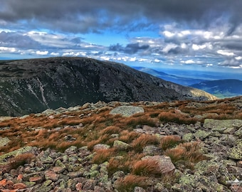 Mount Katahdin - View from the Table Lands - Hamlin Ridge - Baxter State Park - Maine Photography