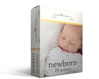 Newborn Photoshop Actions (in Spanish)