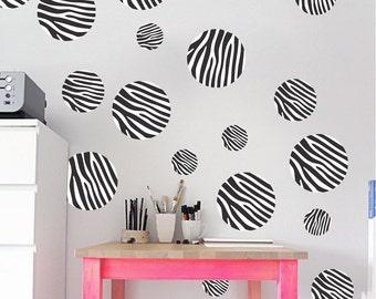 Zebra wall decor   Etsy