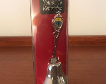 Vintage Pittsburgh Pennsylvania souvenir spoon in box fort USA