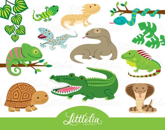 reptile clipart reptile cute 16019 rh etsy com reptile skin clipart reptile clipart public domain
