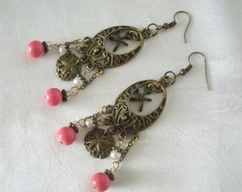 Beach Earrings, boho jewelry bohemian jewelry gypsy jewelry hippie jewelry hippie earrings bohemian earrings boho earrings nautical earrings