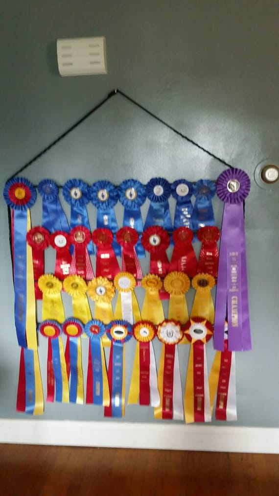 Items Similar To Equestrian Horse Show Ribbon Holder
