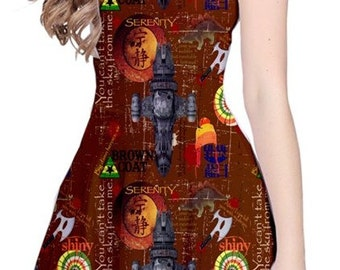Serenity Firefly-Inspired Reversible Dress