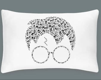 Personalized Pillowcase Harry Potter Pillow Room Decor Gift