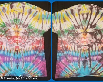Tropical Insight- 2XL Tie Dye