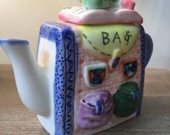 Schoolbag Ornamental Teapot.