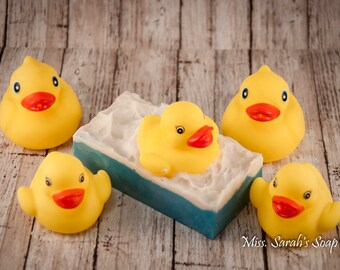 Rubber Ducky Love, handmade soap